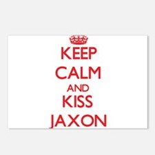 Keep Calm and Kiss Jaxon Postcards (Package of 8)