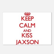 Keep Calm and Kiss Jaxson Postcards (Package of 8)