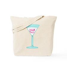 Dentures False Teeth Martini Tote Bag