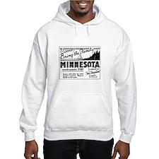 Thrilling Minnesota Retro Ad Hoodie