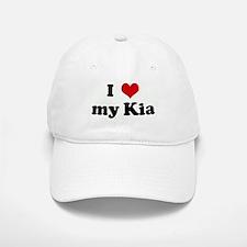 I Love my Kia Baseball Baseball Cap