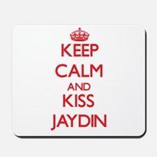 Keep Calm and Kiss Jaydin Mousepad