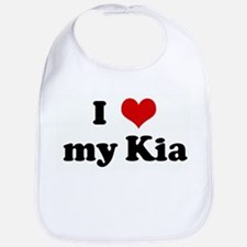 I Love my Kia Bib