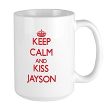 Keep Calm and Kiss Jayson Mugs