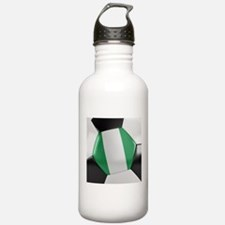 Nigeria Soccer Ball Water Bottle