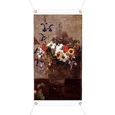 Fantin - Diverse Flowers Banner