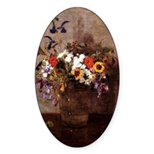 Fantin - Diverse Flowers Decal