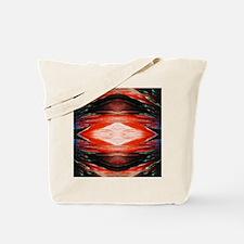 Tangerine Flash Rorschach Tote Bag
