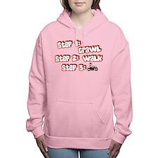 steps Women's Hooded Sweatshirt
