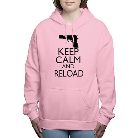 Keep Calm Reload Women's Hooded Sweatshirt