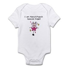 Nana and Papa's Angel Infant Bodysuit