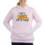 kick out of this.png Women's Hooded Sweatshirt