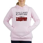 teenage daughter.png Women's Hooded Sweatshirt