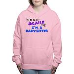babysitter.png Women's Hooded Sweatshirt