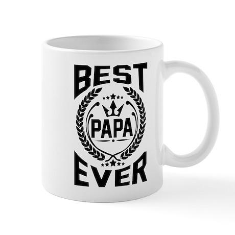BEST PAPA EVER Mugs