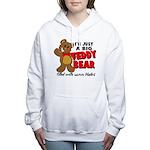 teddyb.png Women's Hooded Sweatshirt