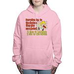 hugmyself.png Women's Hooded Sweatshirt