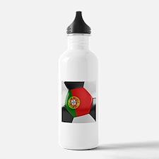 Portugal Soccer Ball Water Bottle