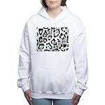 purpleleopard Women's Hooded Sweatshirt