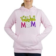 Volleyball Mom 4 Women's Hooded Sweatshirt