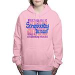 Scrapbooking Retreats Shhh! Women's Hooded Sweatsh