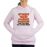 just one more photo.png Women's Hooded Sweatshirt