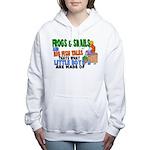 Frogs & Snails Women's Hooded Sweatshirt