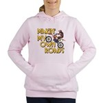 OWN ROADS.png Women's Hooded Sweatshirt