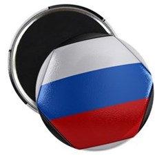 Russia Soccer Ball Magnet