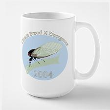 2004 Cicadas Large Mug