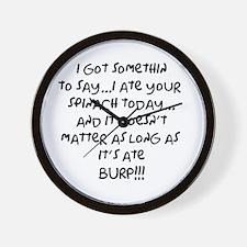 somethin to say Wall Clock