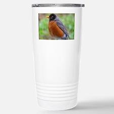 Fluffy Robin Travel Mug