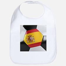 Spain Soccer Ball Bib
