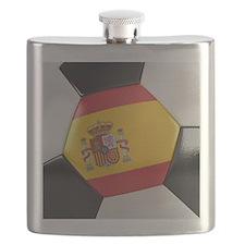 Spain Soccer Ball Flask