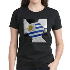 Uruguay Soccer Ball Tee