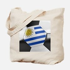 Uruguay Soccer Ball Tote Bag