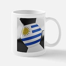 Uruguay Soccer Ball Mug