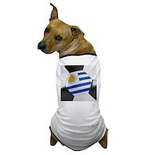 Uruguay Soccer Ball Dog T-Shirt