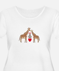 Love The One You're With Plus Size T-Shirt