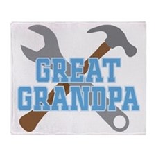 great grandpa Throw Blanket