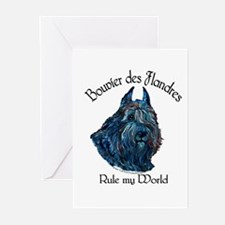 Bouvier des Flandres Rul Greeting Cards (Pk of 20)