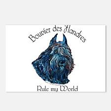 Bouvier des Flandres Rule Postcards (Package of 8)