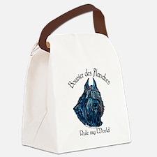 Bouvier des Flandres Rule Canvas Lunch Bag