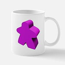 Purple Meeple Mug