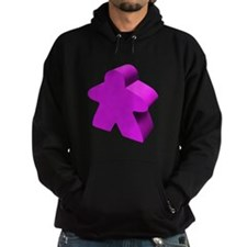 Purple Meeple Hoodie