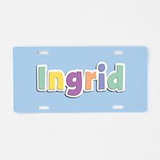 Ingrid Spring14 Aluminum License Plate