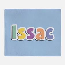 Issac Spring14 Throw Blanket