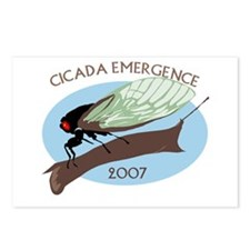 2007 Cicada Postcards (Package of 8)