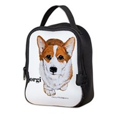 Corgi Neoprene Lunch Bag