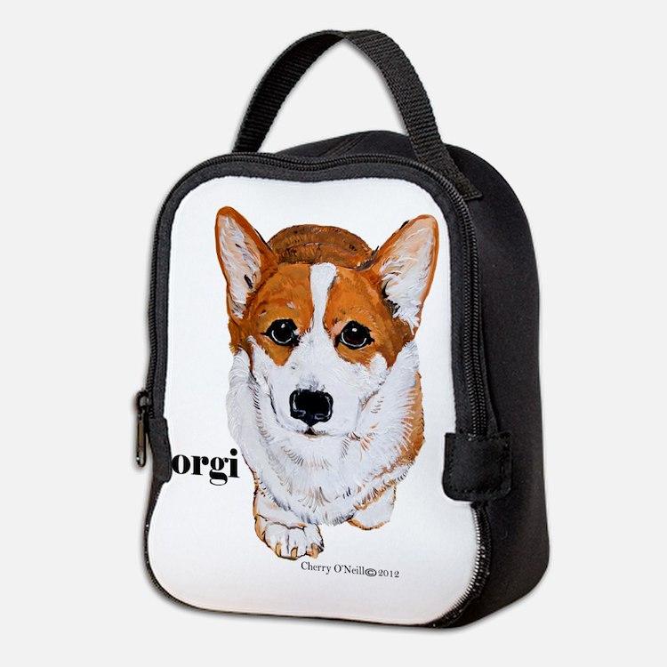 Corgi Neoprene Lunch Bag